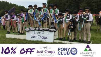 "Just Chaps Pony Club Range Advantage<span class=""sr-only"">; opens in a new window </span>"