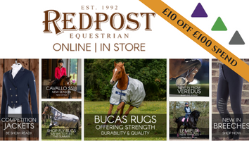 "Redpost Equestrian Intro banner Advantage<span class=""sr-only"">; opens in a new window </span>"