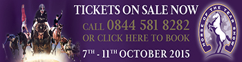 Horse of the Year Show 2015 ticket now available - Book now!